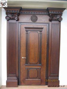 ساخت درب چوبی , دکوراسیون چوبی