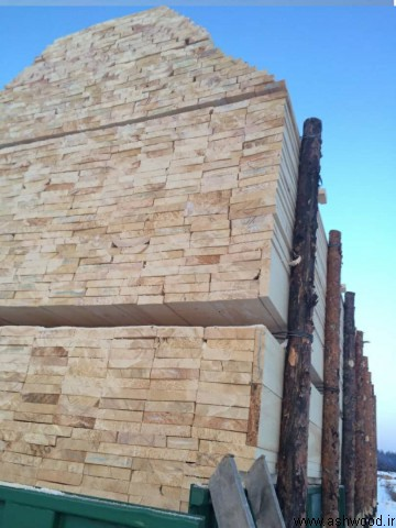تخته الوار چوب کاج روسی , چوب نراد