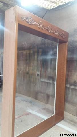چهارچوب درب چوبی با روکوب کلاسیک
