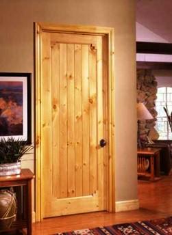 همه چیز درمورد درب های چوبی - درب های تک پنلی در دکوراسیون منزل