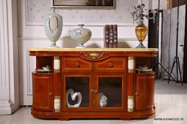 میز کنسول چوبی , آینه کنسول سفارشی