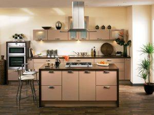 انتخاب رنگ کابینت آشپزخانه , رنگ کابینت جدید , کابینت رنگ روشن , رنگ کابینت ام دی اف