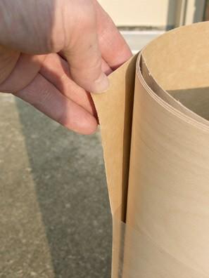 همه چیز راجع به روکش های چوبی که باید بدانیم -  روکش پشت کاغذی
