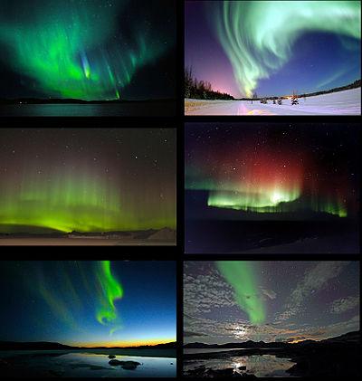 شفق قطبی  Aurora
