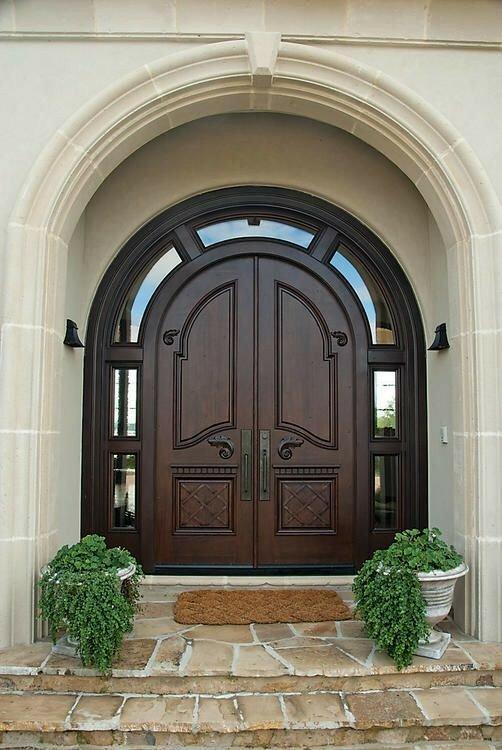 درب ورودی، درب زیبا، درب سنتی، دکوراسیون منزل، درب ورودی ماهگونی