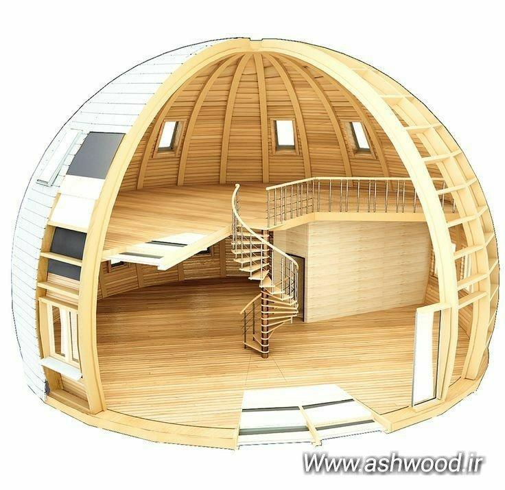 سقف پیشرفته و بروز کلبه و سازه های چوبی بزرگ سقف خانه چوبی، سقف پرگولا و آلاچیق چوبی، براکت،