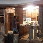 دکوراسیون آشپزخانه تمام چوب , سازگار با محیط زیست