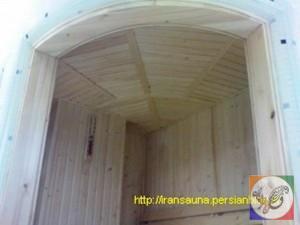 سقف خورشیدی سونای خشک سعادت آباد