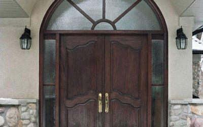 مدل درب چوبی لوکس در ورودی , مدل درب لابی