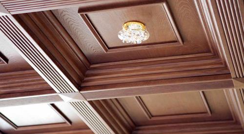 سقف های چوبی