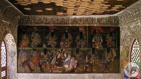 کاخ سلیمانیه کرج و نقاشی دوره قاجار در کرج