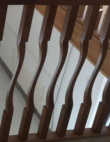 6 مدل پله چوبی و هندریل و نرده خارق العاده و شگفت انگیز