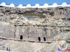 غارهای خریس، خربس در جزیره قشم،