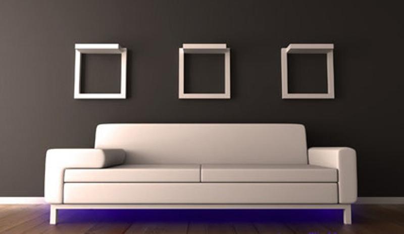 نورپردازی مدرن و مبلمان خانه