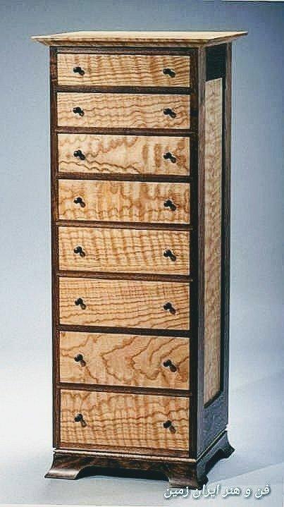 کمد و دراور چوب خالص، میز و کنسول سفارشی سازی