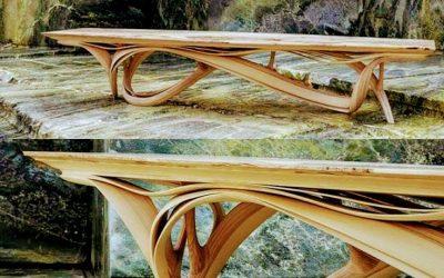 خم چوب و خمکاری با چوب در دکوراسیون داخلی شگفت انگیز
