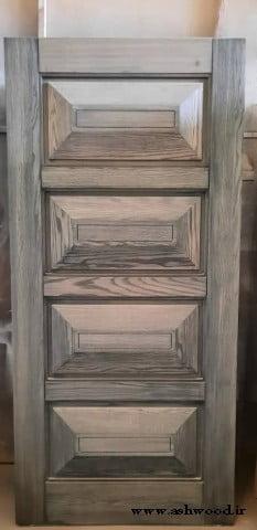 درب چوبی روکش بلوط , سبک کلاسیک
