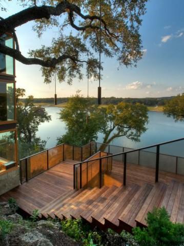 دکوراسیون چوب منزل , 80 مدل پله سبک معاصر 2019