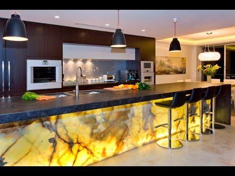 نورپردازی و روشنایی حرفه ای در آشپزخانه