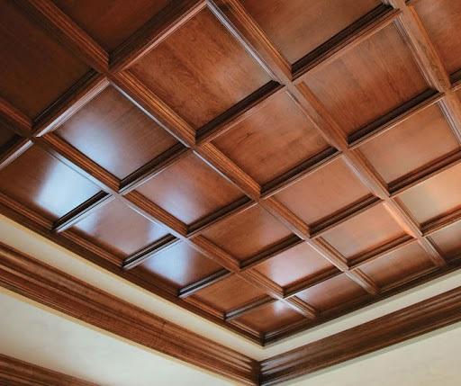 سقف کاذب چوبی صندوقی
