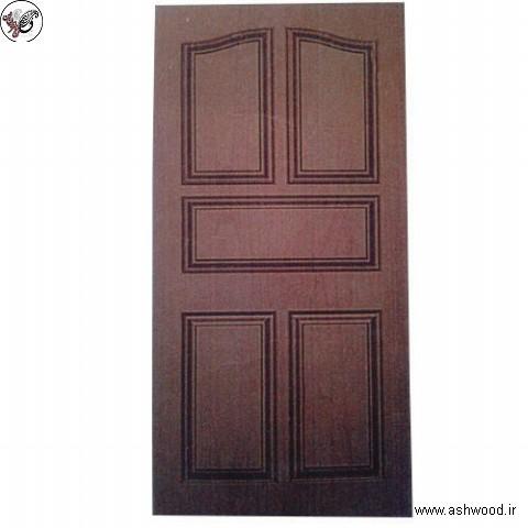درب چوبی 5 پنلی