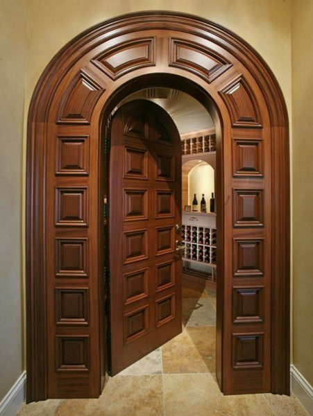 مدل درب کلاسیک , درب کلاسیک چوبی , جدیدترین مدل درب چوبی ورودی