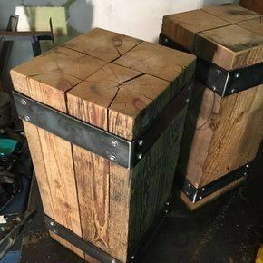 طراحی و ساخت میز صندلی چوبی صنعتی