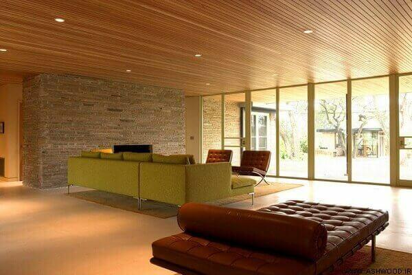 سقف کاذب لمبه چوب , نصاب لمبه چوبی