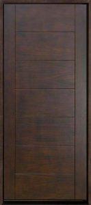 مدل درب چوب گردو , ایده جالب یک درب چوبی