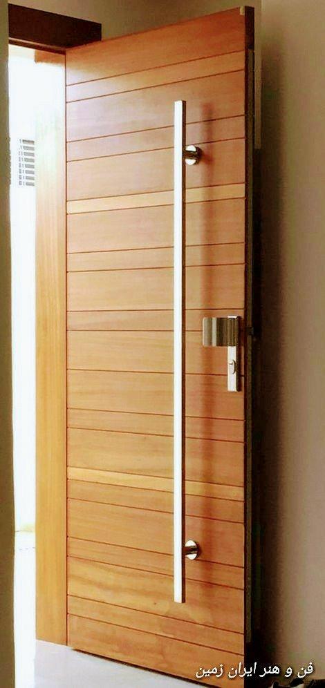 درب چوبی، درب اتاقی، درب های ورودی ساختمان و درب های داخلی. انواع مدل ها و تصاویر درب چوبی