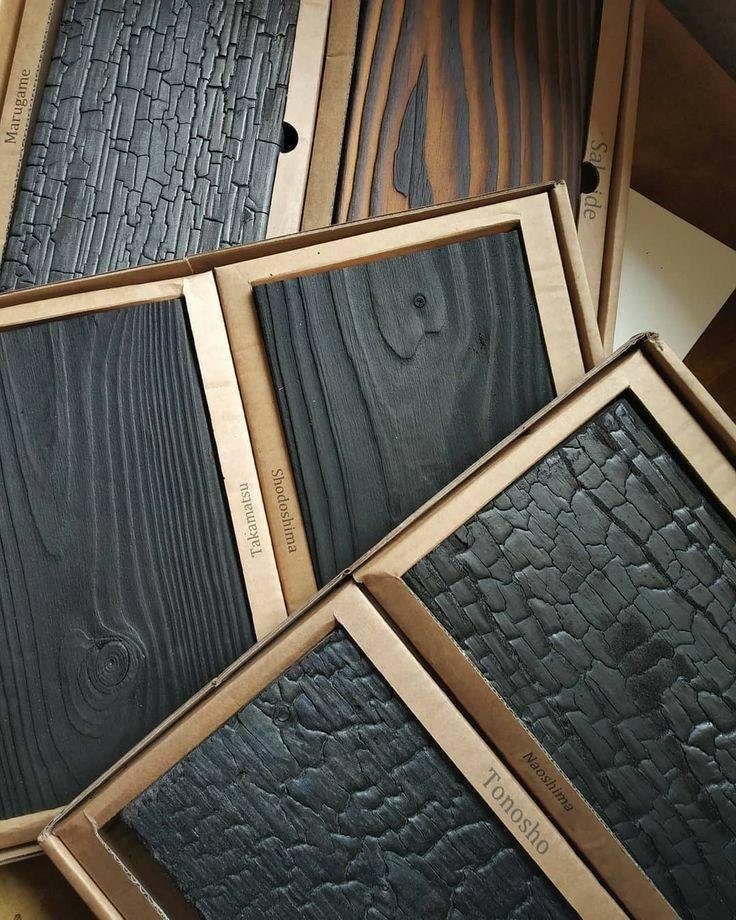 چوب های سند بلاست و سوخته کاری شده برای ساخت دکوراسیون چوبی سبک روستیک