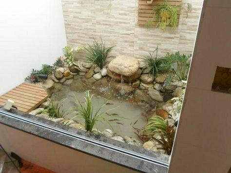 حوض آبنما در دکوراسیون داخلی