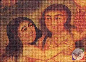 كودكان به تصوير درآمده در نقاشی
