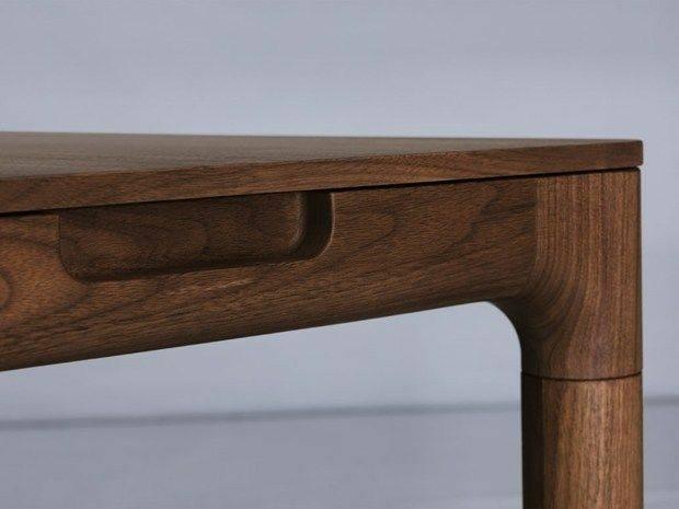 پایه میز های جالب و دیدنی، پایه چوبی, استفاده از چوب در میز ناهارخوری