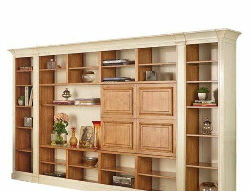 تصاویری از کتابخانه های چوبی تمام چوب، ساخت کتابخانه چوبی