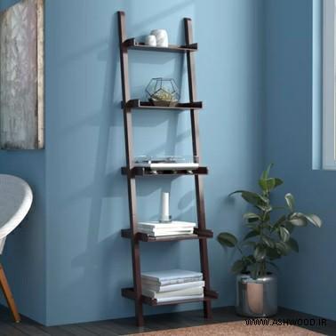 همه چیز درباره ی کتابخانه های چوب, نمونه ای از یک کتابخانه ی چوبی, طرح های مختلف کتابخانه دیواری