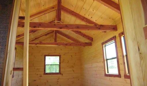 چوب کاج در ساخت ساختمان های چوبی