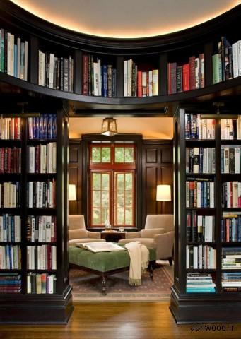 انواع مختلف مدل های کتابخانه