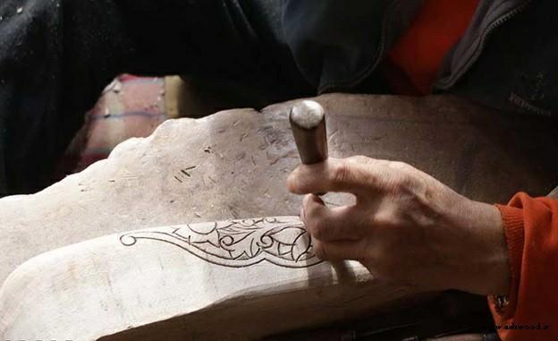حکاکی و منبت چوب