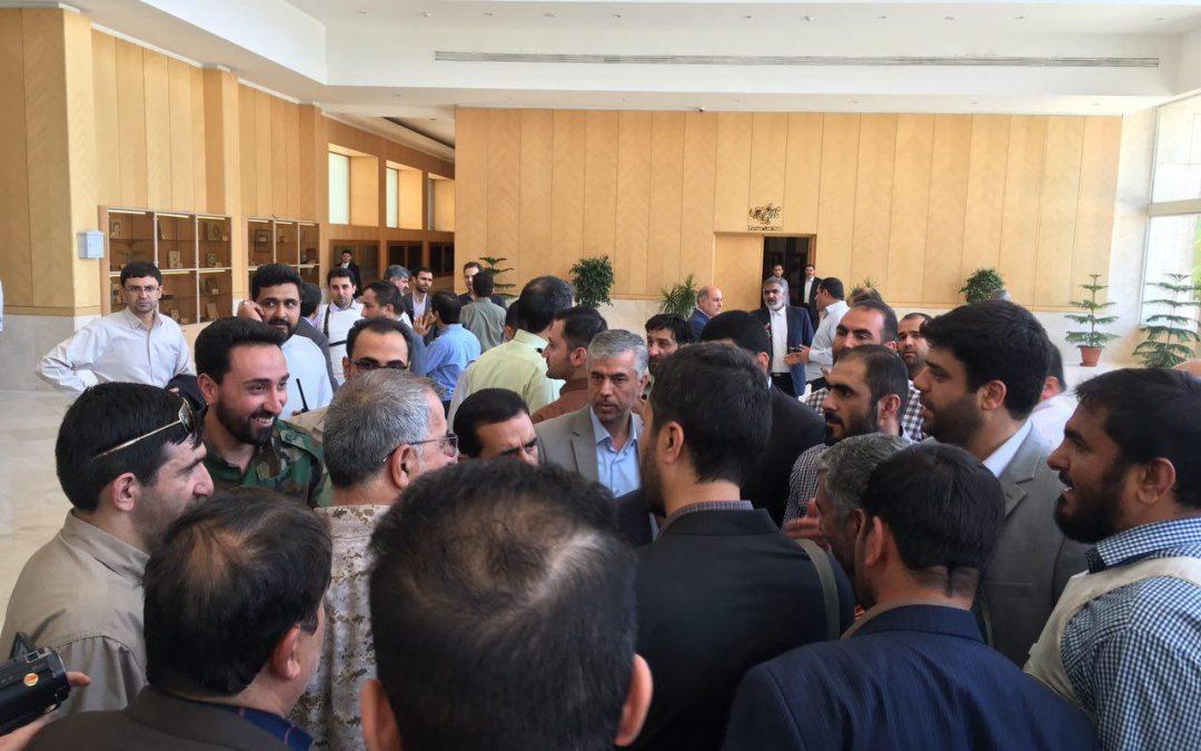 سرلشکر جعفری: حادثه تیراندازی مجلس