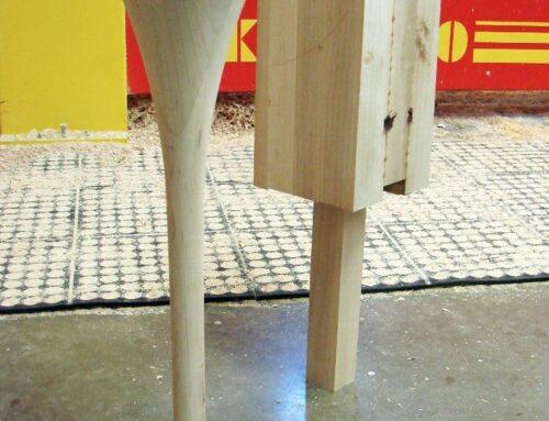 انواع مدل پایه چوبی و خلاقانه در ساخت میز و صندلی