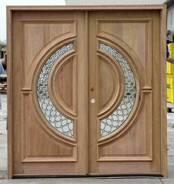 ایده های درب چوبی لابی , ورودی ساختمان