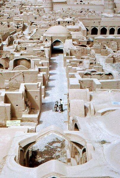 عکس بسیار زیبا از بم کرمان