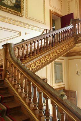 پله های چوبی جالب و شگفت انگیز , پله دوبلکس