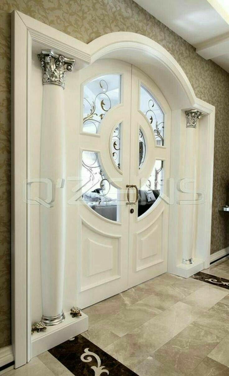درب ورودی رنگ سفید