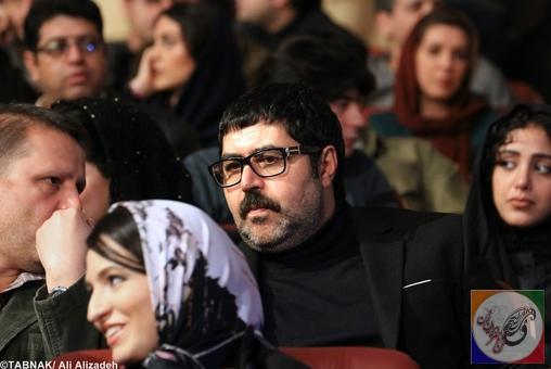 اولین تصاویرداغ از هنرمندان در اختتامیه جشنواره فیلم فجر
