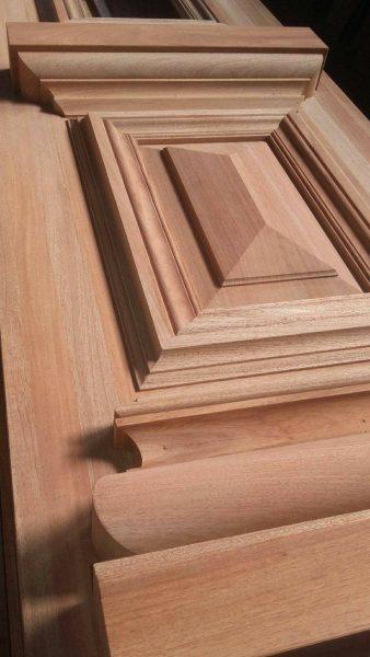 قاب تونیک درب چوبی لوکس و تمام چوب راش