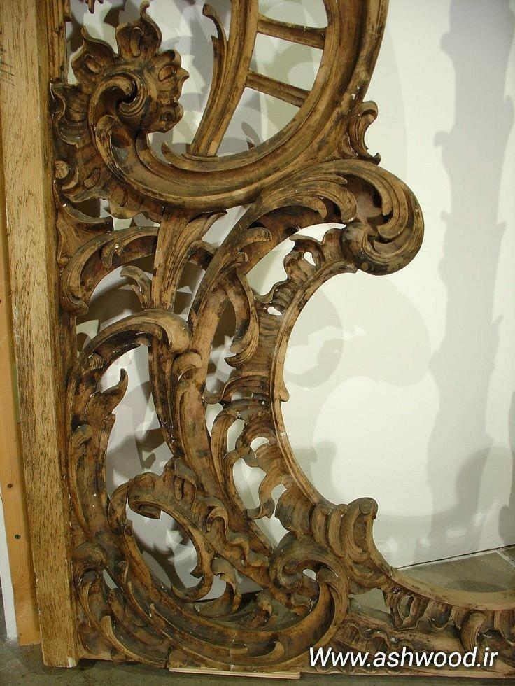 هنر چوب، منبت کاری و حکاکی روی چوب در دکوراسیون داخلی