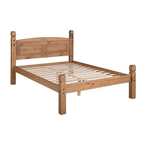تخت خواب ساخته شده از چوب کاج روسی