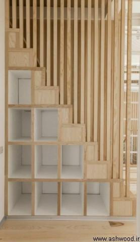 مدل های راه پله چوبی , پله چوبی , ساخت پله چوبی , دکوراسیون چوبی منزل لوکس